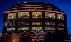 2016 - ms Noordam - Victoria - Backside (Ted's photos - For me and You) Tags: night dark boat rotterdam nikon ship seats cropped nightscene ladder ropes seating vignetting railings 2016 nightlighting msnoordam tedmcgrath tedsphotos nikonfx nikond750 noodremrotterdam