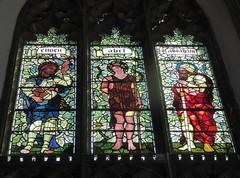 Enoch, Abel & Abraham (Granpic) Tags: window norfolk stainedglass vitrail cromer preraphaelite cromerparishchurch norfolkchurch stpeterstpaulcromer vidreriadecolores