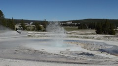 Sawmill Geyser, Yellowstone (David A's Photos) Tags: video yellowstonenationalpark yellowstone geyser sawmill yellowstonetrip ugb uppergeyserbasin