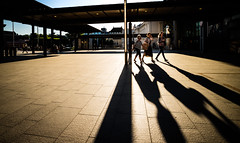 Oslo S, June 8, 2016 (Ulf Bodin) Tags: shadow summer urban june oslo norway norge outdoor no streetphotography backlit oslos urbanlife urbanphotography skugga canoneosm3 canonefm11224556isstm