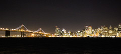 San Francisco from Treasure Island (Sannou In The Middle) Tags: sanfrancisco california bridge usa water night canon coast us eau pont extrieur nuit californie rivage etatsunis oaklandbaybridge littoral canoneos600d