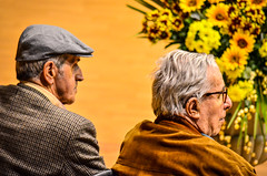 500px Photo ID: 157278257 (marcograndiphoto) Tags: show people old touch photography age grandfather human uncle elderly orchestra bystanders viewers