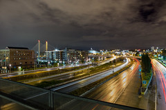 Tacoma-1 (imandrewcooper) Tags: longexposure rain landscape spring nightscape traffic outdoor tacoma museumofglass 253 ttown youllliketacoma