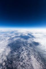 Window Seat (Andrew Herter Photography) Tags: seattle blue sky window alaska flying seat clear boeing airlines 737900