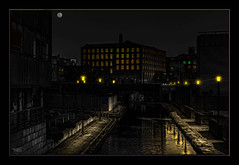 The Peaceful Hour (Kevin From Manchester) Tags: england building architecture manchester canal northernquarter northwest outdoor hdr bridgewatercanal canon1855mm kevinwalker canon1100d