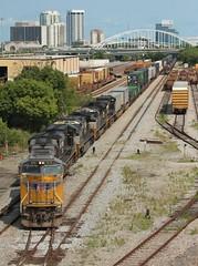 Straight Outta Miami (brickbuilder711) Tags: csx ns norfolk southern jacksonville florida beaver st callahan dinsmore train trains intermodal q037 210 64q union pacific t485 coal