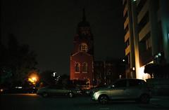 ... (june1777) Tags: street light 2 night 35mm t fuji ar superia snap 400 seoul konica pushed f28 autoreflex xtra hexanon jongro gyeongundong