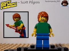 Scott Pilgrim (Random_Panda) Tags: world show film television comics movie scott book tv comic lego fig films character books figure movies shows characters vs minifig minifigs figures figs pilgrim minifigure the minifigures