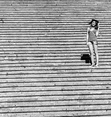 Flight of steps (Angelo Petrozza) Tags: flight steps blackandwhite biancoenero bw amalfi campania pentax
