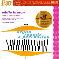 Organ Sounds and Percussion (davidgideon) Tags: records percussion vinyl lp exotica spaceagepop