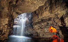 Smoo(th) (Kevin Camacho Polo) Tags: smoocave durness scotland uk eu europe cave cueva grotta waterfall cascada cascata longexposure hdr