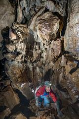 _TC7926 (ChunkyCaver) Tags: cave caving formations spelunking calcite caver twllclogfaen