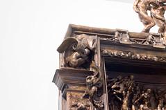 La puerta del infierno 11 (roshua_quest) Tags: plaza sculpture art mxico arte escultura museo mx rodin auguste carso ciudaddemxico soumaya