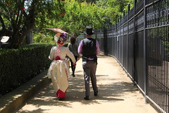 Victorians strolling, City of Industry, CA (vtpoly) Tags: california family people fashion museum temple fair cityofindustry homesteadmuseum workman 2016 losangelescounty victorianfair polywoda