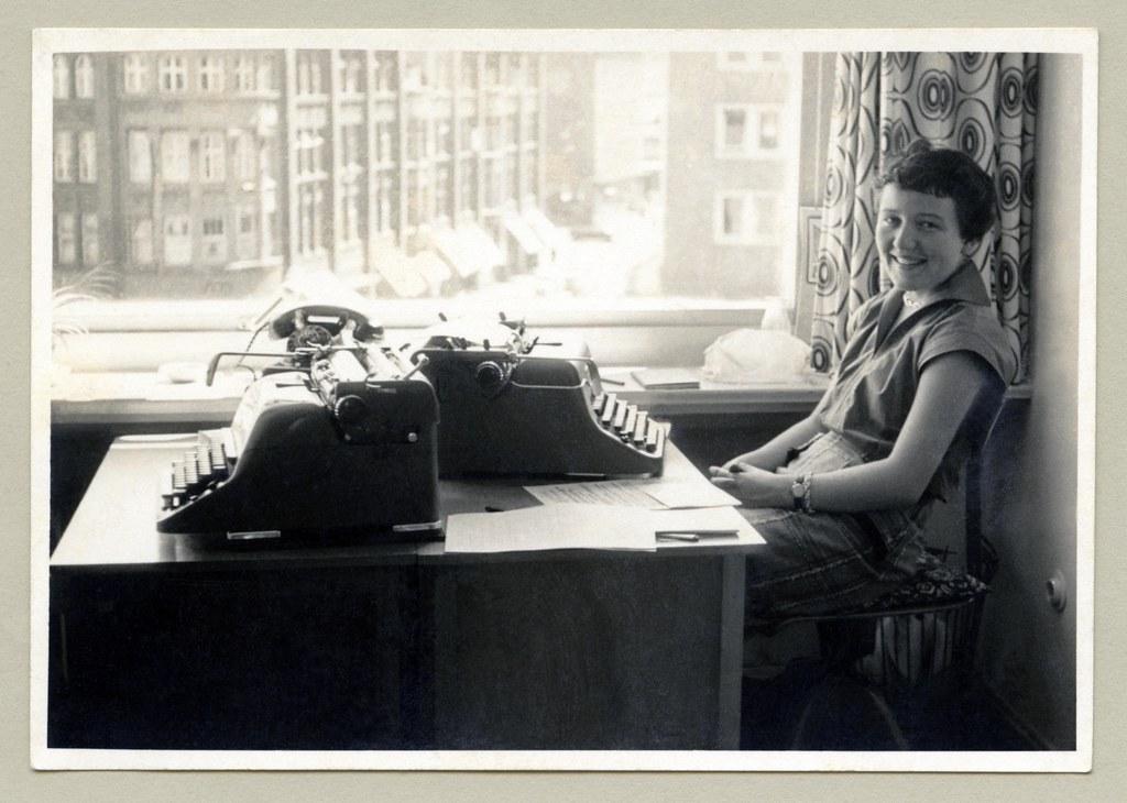 the world 39 s best photos of secretary and vintage flickr. Black Bedroom Furniture Sets. Home Design Ideas