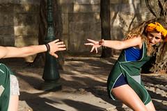 Dana no Castelo (miza monteiro) Tags: luz pessoa lisboa lisbon castelo dana cor alunos lisbonne castelosaojorge danca coreografia