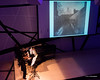 """Michael Hersch's """"Between Life and Death"""" (Jill Steinberg Photography) Tags: usa ny brooklyn betweenlifeanddeath nationalsawdust zwischenlebenundtod brucesteinberglightingdesign peterweissimages carolynhueblviolin chrisgrymesopengrecords markwaitpiano"""