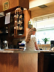A Woman's Work Is Never Done! (✪☺✿One Week Left!✿☺✪) Tags: me kitchen working athome dishes atwork washing selfie odc