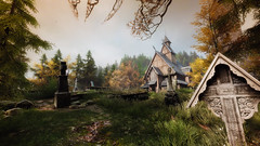 VOEC - 052 (Screenshotgraphy) Tags: sunset sky mountain lake game nature colors architecture clouds contrast montagne landscape pc screenshot lumire couleurs country lac ethan steam gaming ciel beaut carter concept nuages paysage vanishing campagne beautifull jeu naturelle urbain