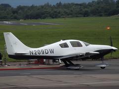 N209DW Lancair Columba (Aircaft @ Gloucestershire Airport By James) Tags: james airport gloucestershire lloyds columba lancair egbj n209dw
