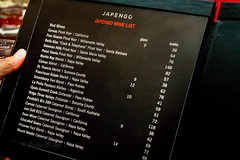 Wine list of Japengo, Waikiki (Victor Wong (sfe-co2)) Tags: red usa hawaii restaurant hotel wine waikiki traditional indoor list hawaiian hyatt honolulu regency japengo familystyle