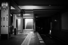 up and down (Nils Lendeckel) Tags: bw berlin underground subway blackwhite ubahn