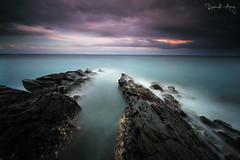 Fins (Randi Ang) Tags: kaprusan senggigi lombok indonesia landscape seascape sunset cloudy long exposure lee big stopper filter hitech randi ang fuji xt10 fujifilm