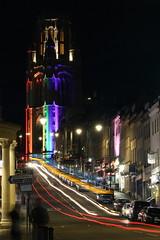 Bristol Pride Wills Memorial (sam.harnew) Tags: night bristol wills memorial pride rainbow canon60d park street