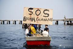 Barqueata na Ilha_03.07.16 _Foto AF Rodrigues_8 (AF Rodrigues) Tags: riodejaneiro barco ilhadogovernador baa zumbi baadeguanabara afrodrigues barqueata