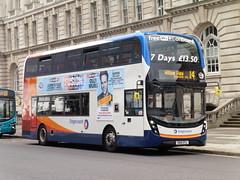 Stagecoach 10574 - SN16 OTL (North West Transport Photos) Tags: bus liverpool mmc pierhead stagecoach enviro adl 10574 e400 alexanderdennis mannisland enviro400 e40d stagecoachmerseyside stagecoachmerseysideandsouthlancashire enviro400mmc e400mmc sn16otl
