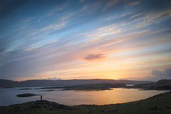 Dunvegan Sunset (Phil Hunter (VividVista)) Tags: sunset cloud colour scotland nikon innerhebrides dusk d800 dunvegan lochdunvegan vividvista