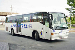 Autocares Mallorca IB-5686-CY, Iveco EuroRider in Inca bus station (majorcatransport) Tags: inca iveco irizar autocaresmallorca majorcabus