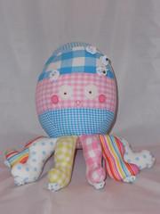 Okky (fabric and scissors) Tags: animal stuffed handmade sew scissors softie softies fabric octopus cloth