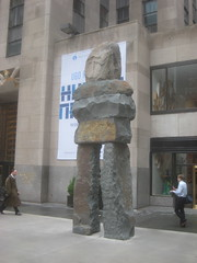 Human Nature Exhibit at 30 Rock Statues 9644 (Brechtbug) Tags: from street new york city nyc art feet nature public june rock stone 30 by artist display manhattan nine s center exhibit midtown part human tall 16 through 20 rockefeller 50th figures sculptures ugo fund rondinone 2013 ranging