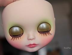 Arden's eyelids ;)