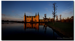 Sunrise at Frederiksborg Castle (danishpm) Tags: castle sunrise denmark slot manfrotto frederiksborg hillerød 1740mmf40l canon5dmkiii 09ndgradfiltersoft sorenmartensen