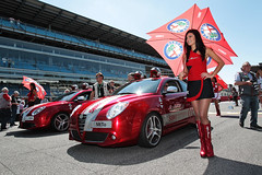 MiTo and Superbike - Monza 2013 (Alfa Romeo - The official Flickr) Tags: g file alfa portfolio infront photozac sbk2013 sbk2013file monza120513 0603r04alfagirlgridjpg