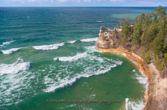 Miners Castle (Gary of the North(Footsore Fotography)) Tags: ice lakeshore upperpeninsula lakesuperior gettyimages munising movingwater northernmichigan picturedrocksnationallakeshore absolutemichigan minersbeach amazingmich munisingmichigan photosandcalendar norhternmichigan puremichigan