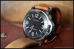 IMG_9132 (bakelite1) Tags: brown dial pam 116 chocolat panerai titane luminor bettarini pam116