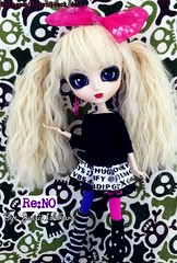 Re:NO (J-Rock dolls) Tags: music fashion japan japanese doll dolls ooak models customized pullip reno custom jrock kera pullips jpop  aldious