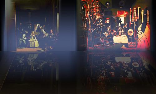 """Meninas, iconósfera de Diego Velazquez (1656), estudio de Francisco de Goya y Lucientes (1778), paráfrasis y versiones Pablo Picasso (1957). • <a style=""""font-size:0.8em;"""" href=""""http://www.flickr.com/photos/30735181@N00/8746869169/"""" target=""""_blank"""">View on Flickr</a>"""