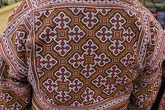 Handwork ... embroidery ... (Rita Willaert) Tags: china embroidery indigo guizhou miao minority etnic stammen borduurwerk zuidwestchina qingmiao baixing bijie minderheidsgroep baixingmiao villagelaozhaizi