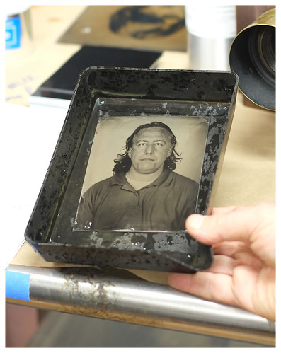 Tintype Me - by way of Fuji.