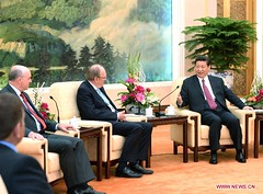 Chinese President Meets Irish Parliament Leaders (dcmaster) Tags: irish president chinese parliament leaders meets