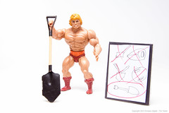 He-Man Invents the Shovel (EnvisionDigital) Tags: tn may 365 shovel heman 52 mastersoftheuniverse 2013 envisiondigital