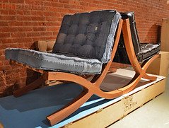 Fabrica-van-der-gan-recycled-denim-chair (Inhabitat) Tags: sustainabledesign greendesign greenfurniture newyorkdesignweek ecoproducts greeninteriors energyefficientlights wanteddesign nydw newyorkdesignweek2013 wanteddesign2013 mikewanted2013