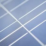 Solarzelle Nahaufnahme