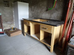 Drawers in (4kiku) Tags: bench for pottery atelier