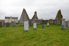 246-20130511_Faraid Head walk-Sutherland-Balnakeil Church-with Balnakeil House behind (Nick Kaye) Tags: church landscape coast scotland highlands sutherland