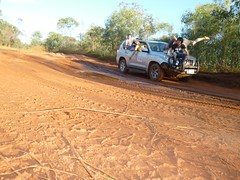 On the road (fraggy) Tags: car group 4wd buddy veronika finn rex capeleveque